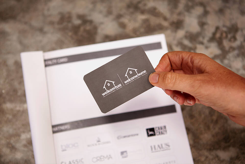 What's In The Box - Loyalty Card style picture